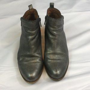 Lucky Brand Metallic Boots